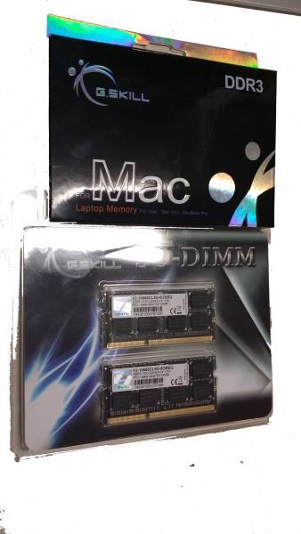 Macbook Pro Speicheraufrüstung auf 16 GB