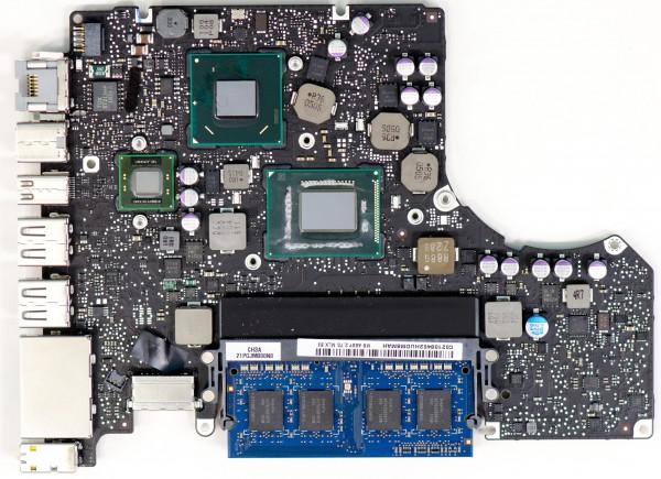 Logicboard Reparatur auf Chiplevelbasis